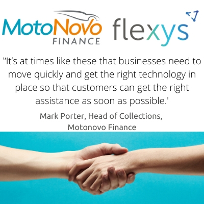 MotoNovo Finance and Flexys extend their debt management partnership